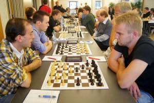Echiquier 1 : Patrice Lerch contre Arik Braun