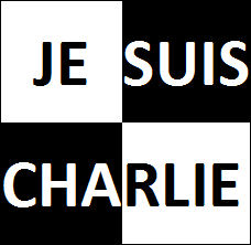 Je suis Charlie checkered