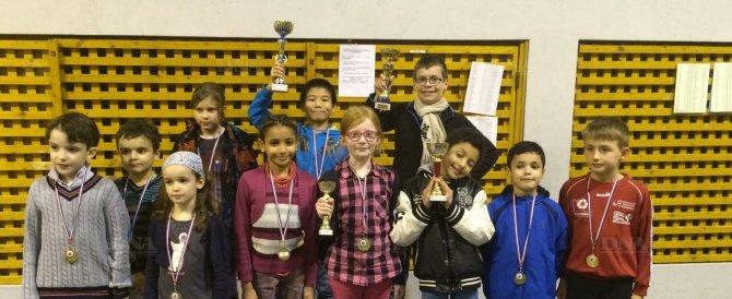 Les meilleurs joueurs d'échecs qualifiés pour le championnat régional