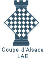 Logo LAE blanc - Coupe Alsace