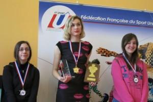 Noemie Haller - Championne de France universitaire