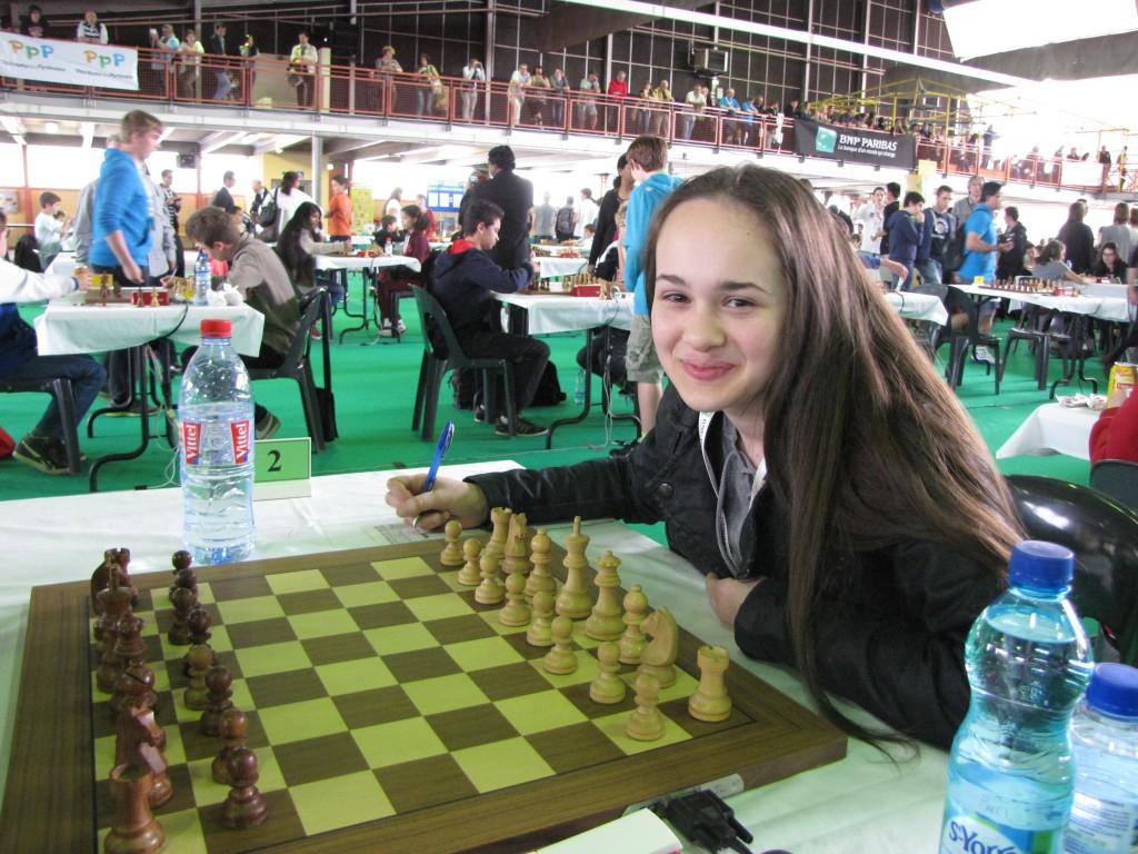 Anissa Bellahcene a longtemps joué en tête de son tournoi.