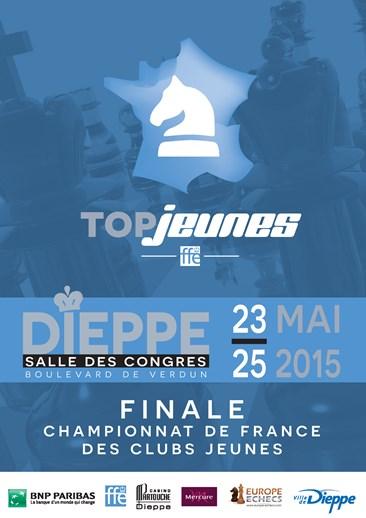Top Jeunes : Philidor Mulhouse est vice-champion de France 2015, Bischwiller 7ème