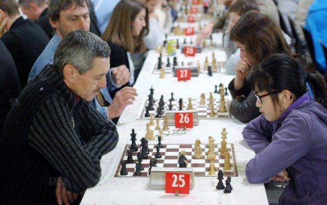 Des joueurs concentrés et de belles parties tout au long du tournoi