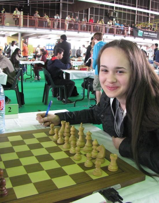 Anissa Bellahcene mate la concurrence masculine
