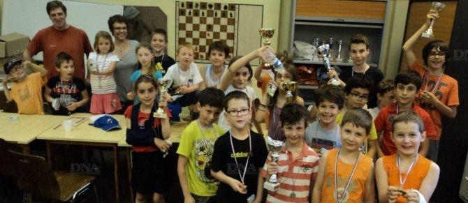 Lors des dernières rondes du championnat d'échecs des jeunes de Sélestat (document remis).