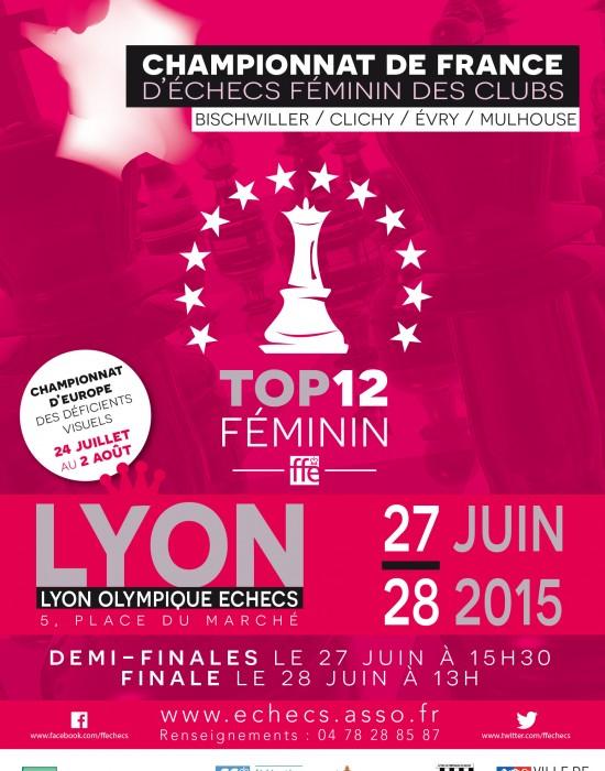Duel alsacien pour la finale du Top 12 féminin
