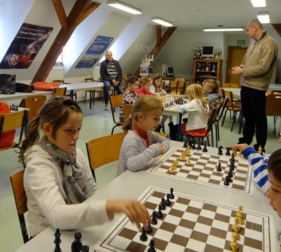 Ouverture d'une classe d'échecs à l'école de Bennwihr