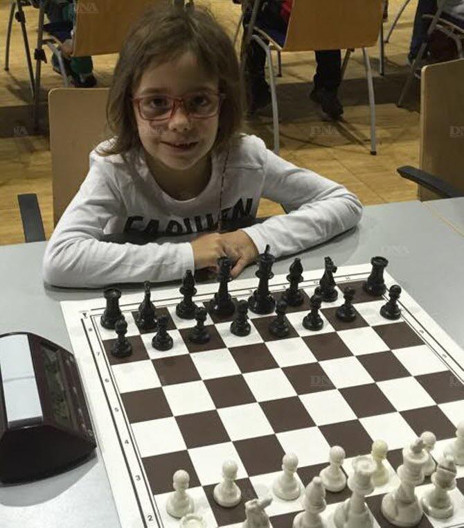 Léane Schebacher championne du Haut-Rhin. Photo VR