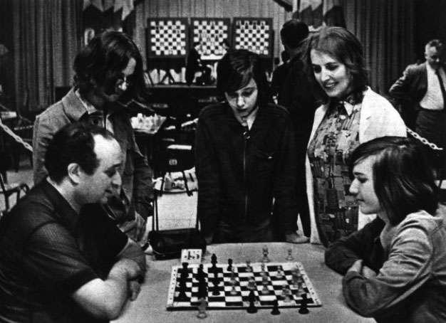 La famille Roos au championnat de France 1972