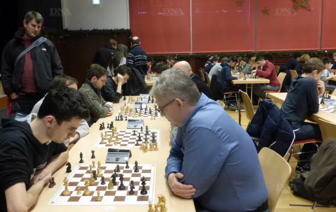Le premier festival de Noël du club d'échecs de Mundolsheim a tenu ses promesses. Photo DNA
