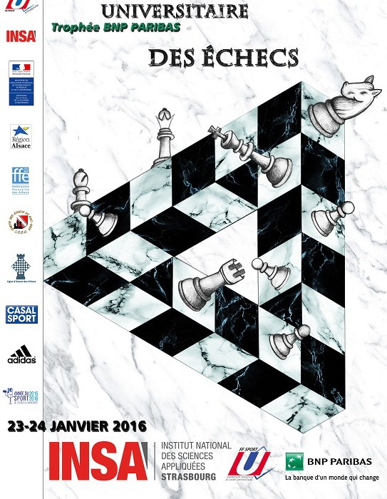 Championnat de France Universitaire 2016