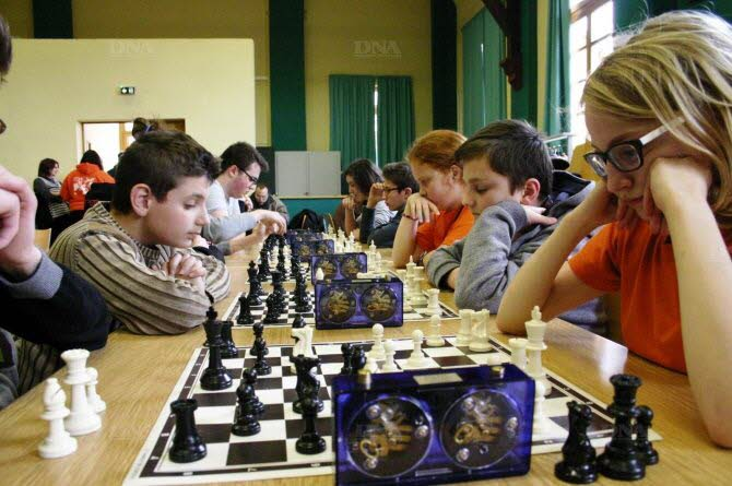 Des joueurs très concentrés. Photo DNA