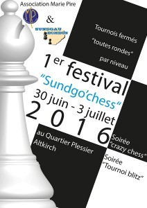 Sundgo Chess affiche 2016