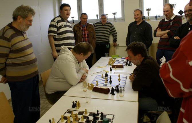 Une belle saison pour les joueurs du cercle d'échecs de Gerstheim. Photo DNA